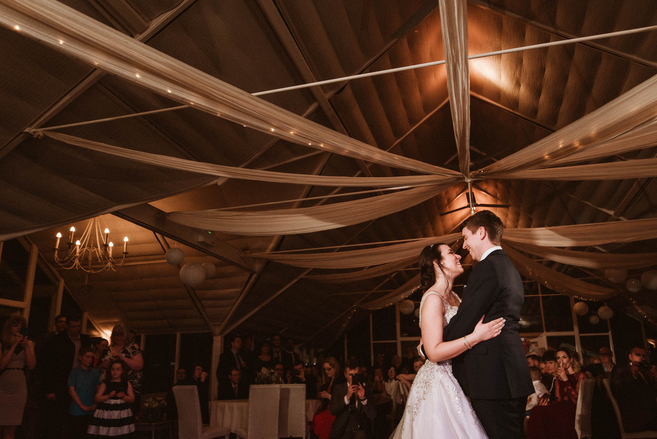 first dance at Abbeywood Estate
