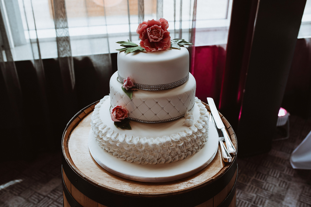 wedding cake tiers