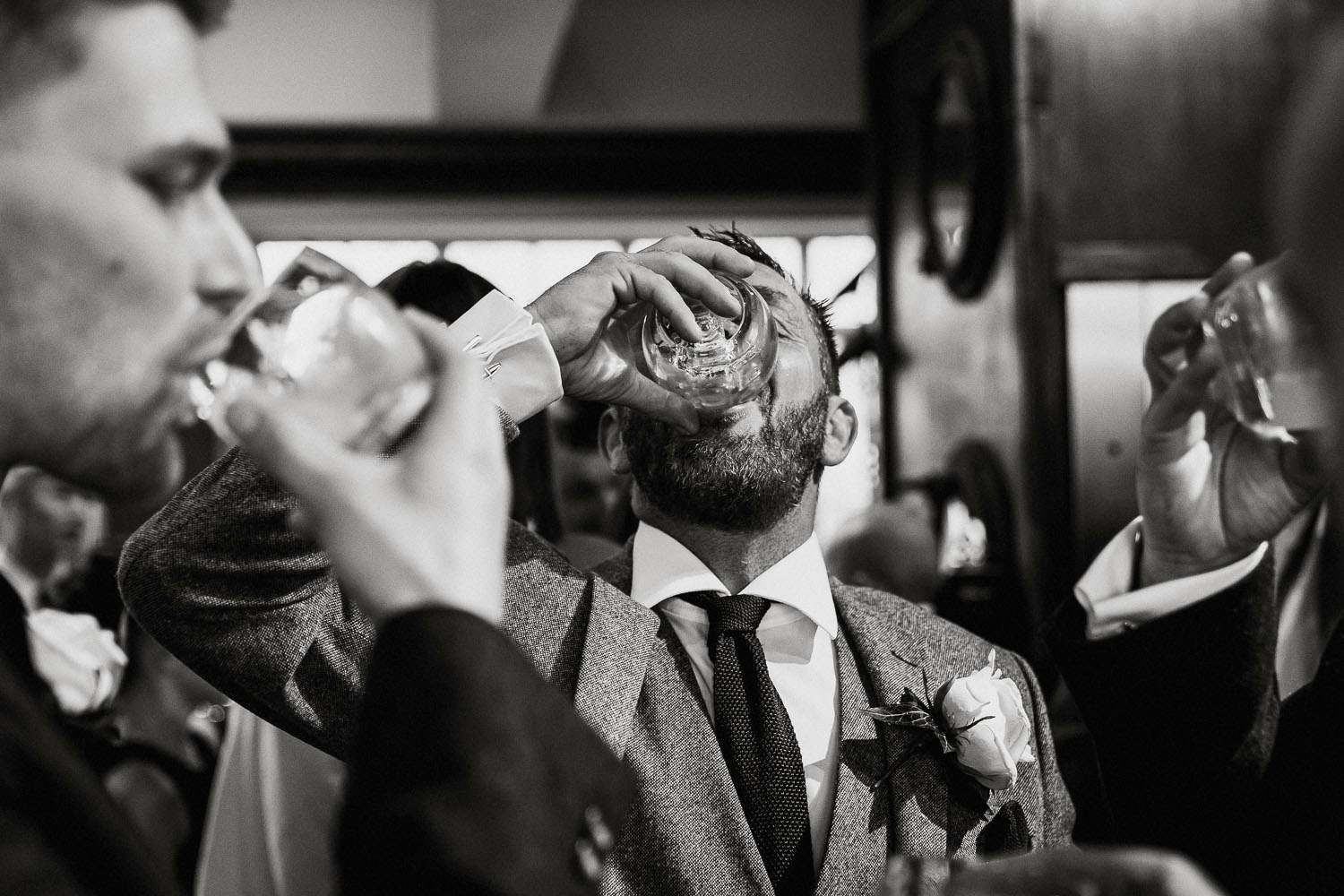 father of the bride shots