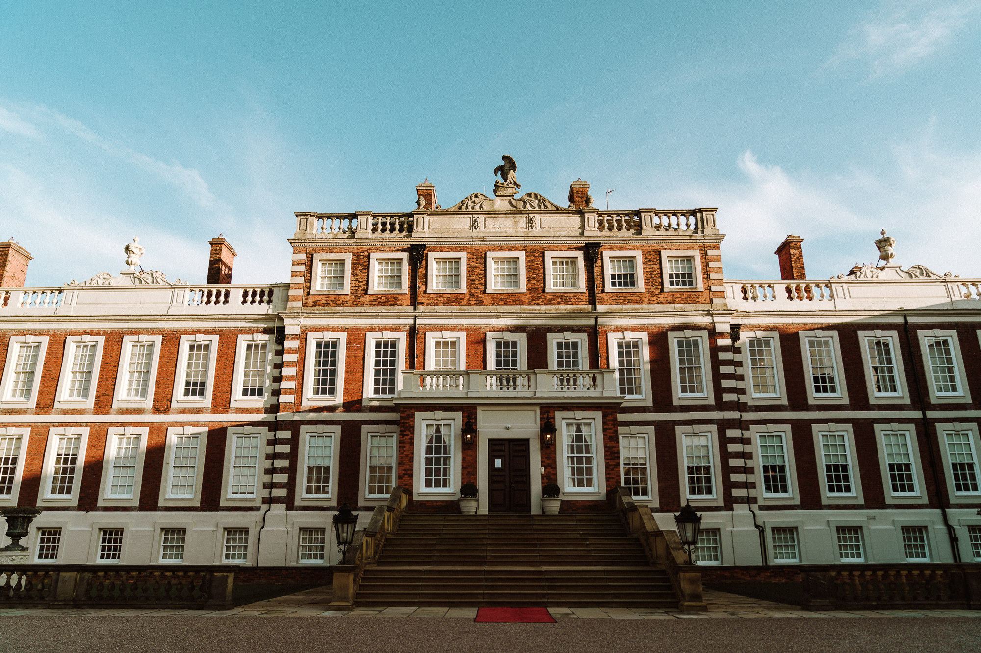 Exterior of Knowsley Hall
