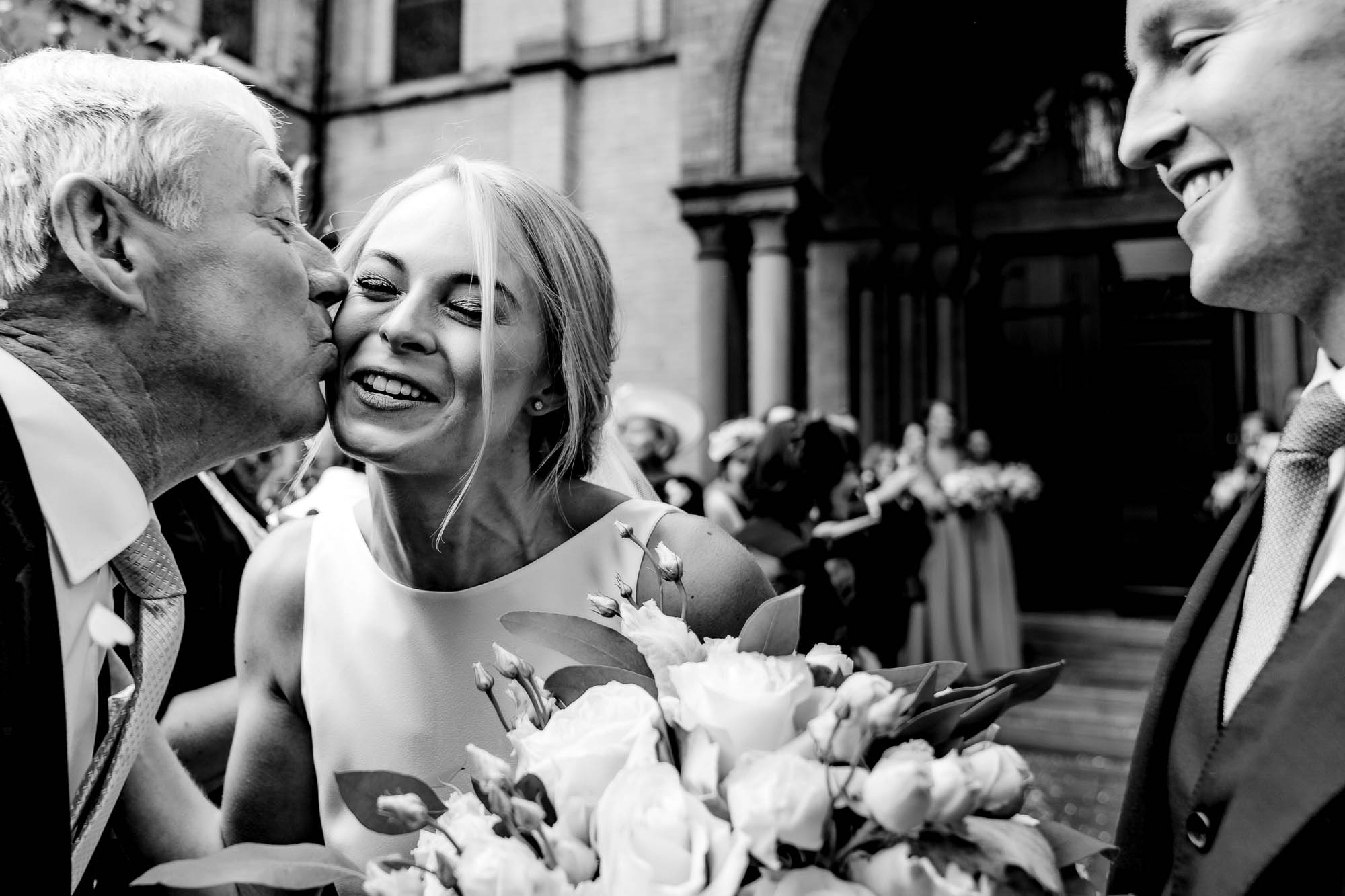 kiss for the bride