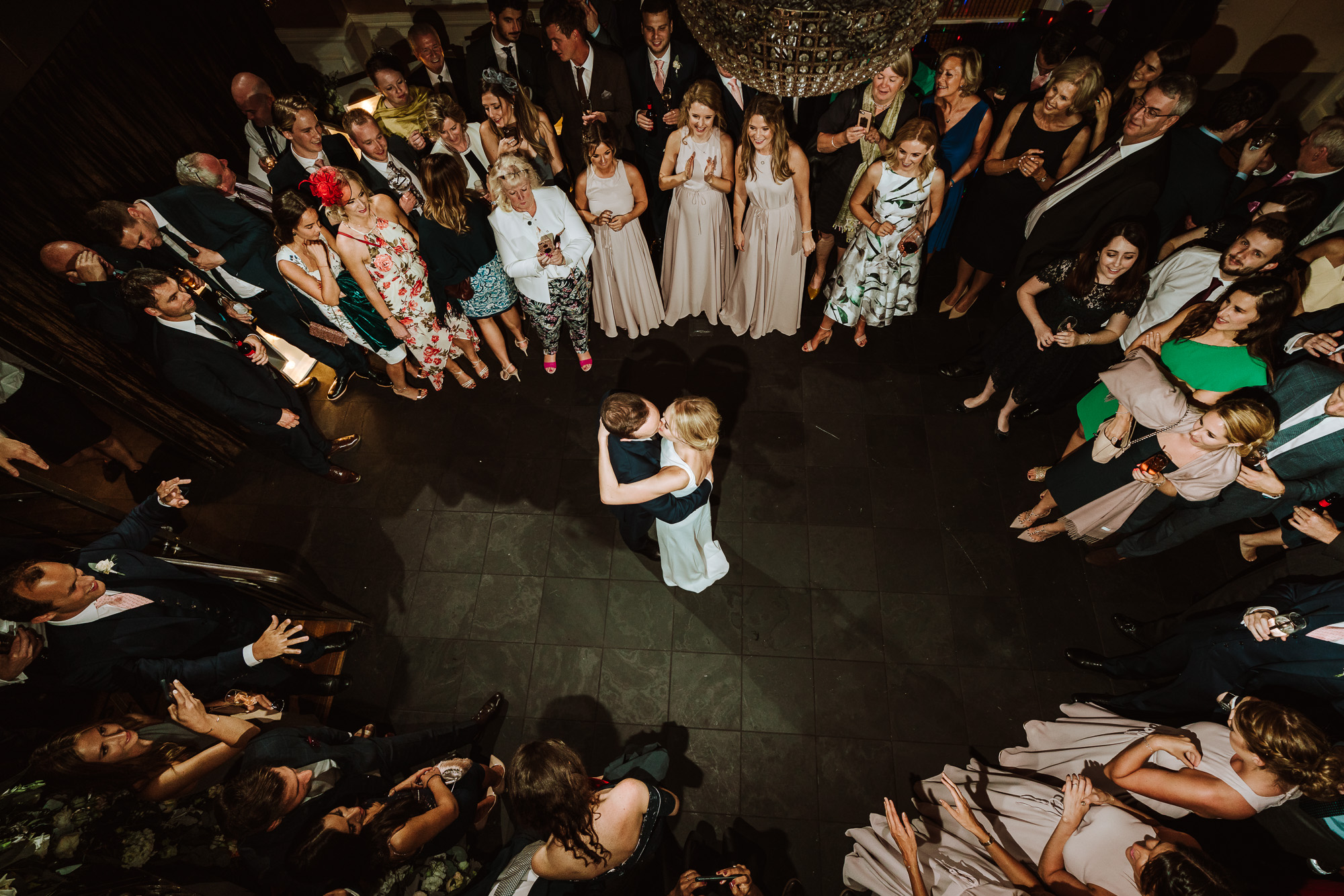 first dance from above at GJS hotel