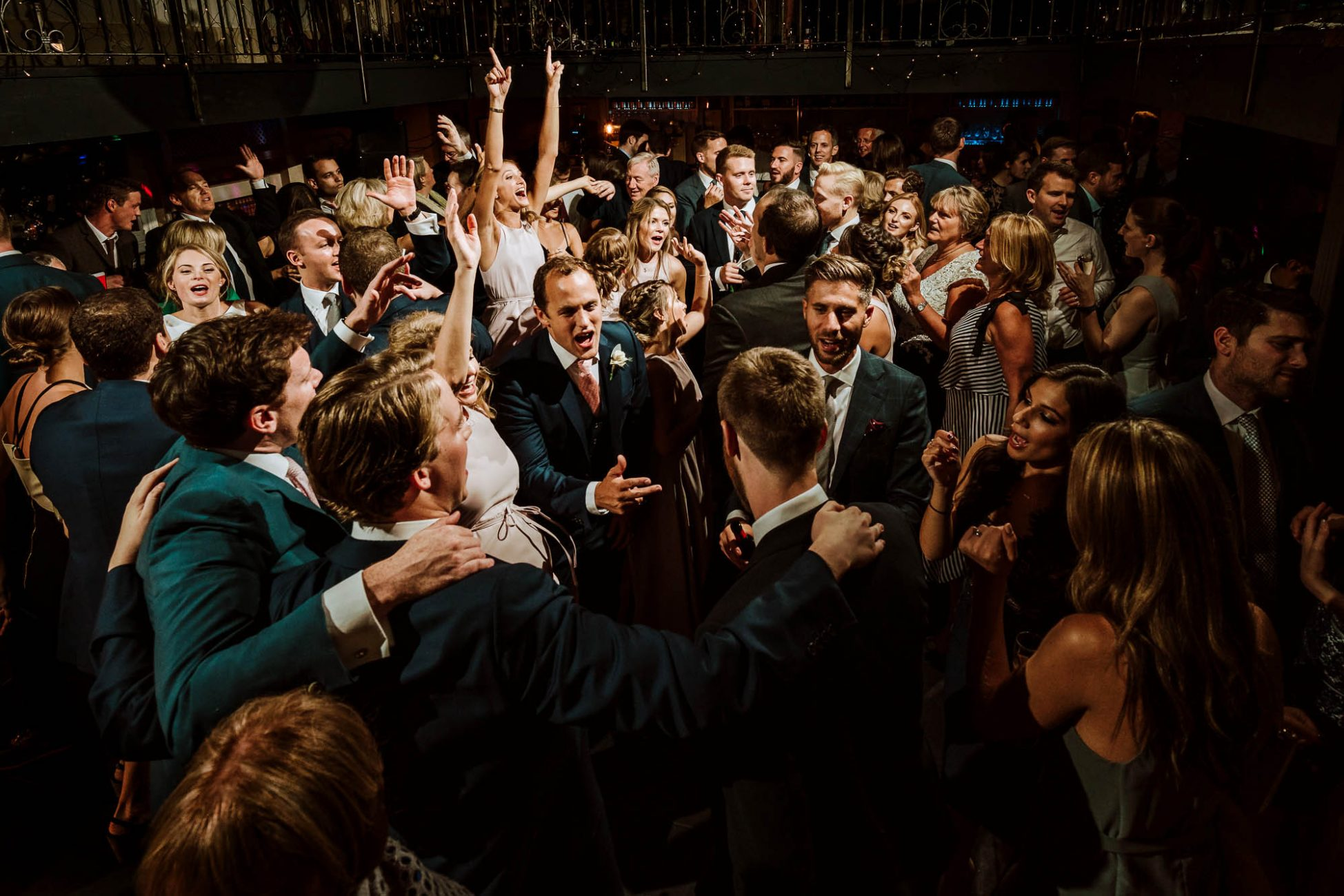 wedding reception at great John street hotel