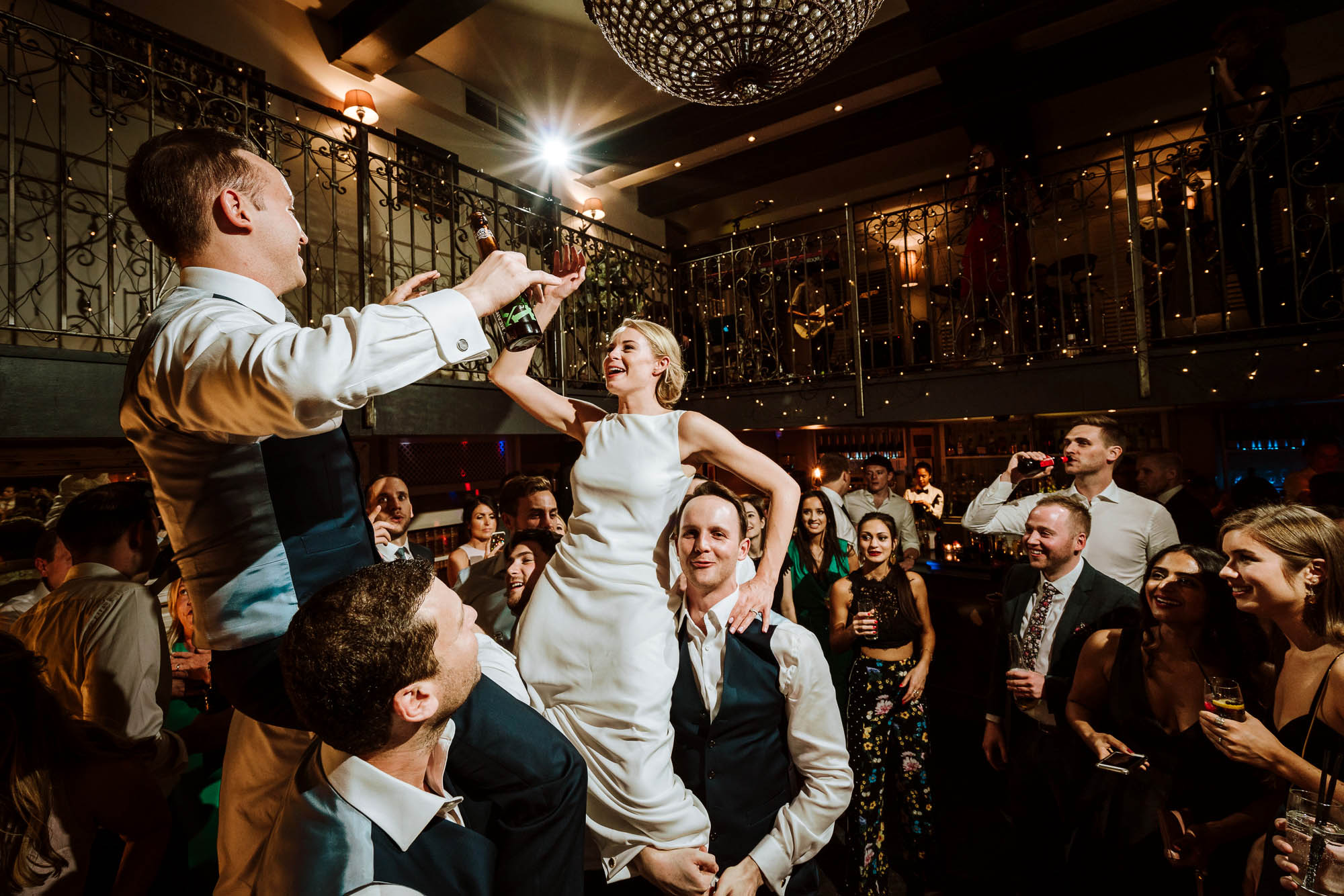 Great John Street Hotel Wedding Photo