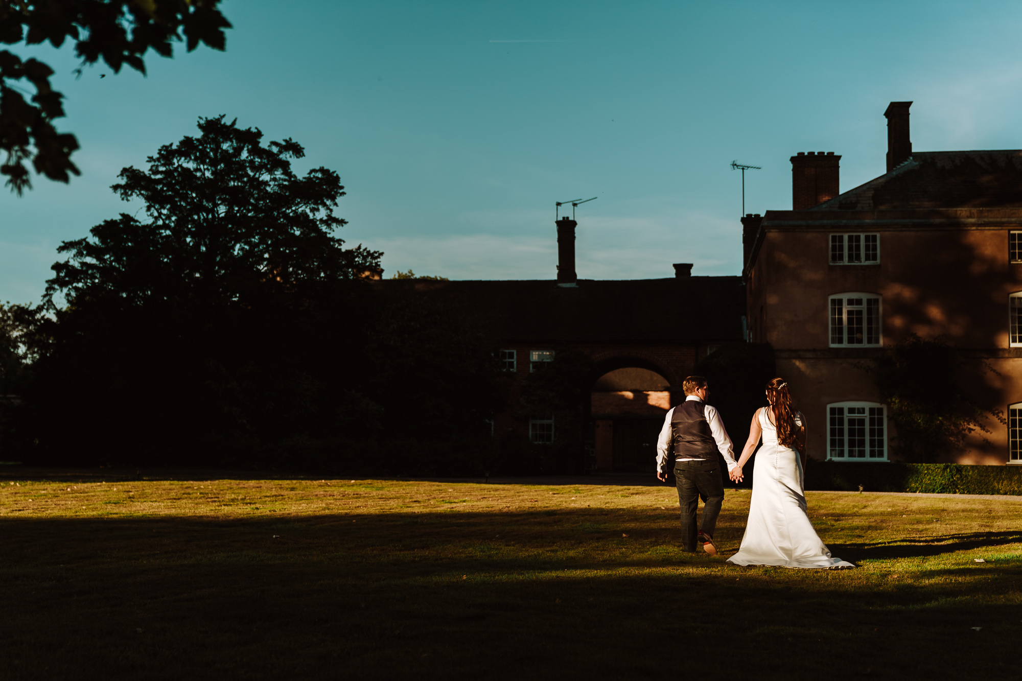 Yeldersley Hall Wedding Photography in the Summer