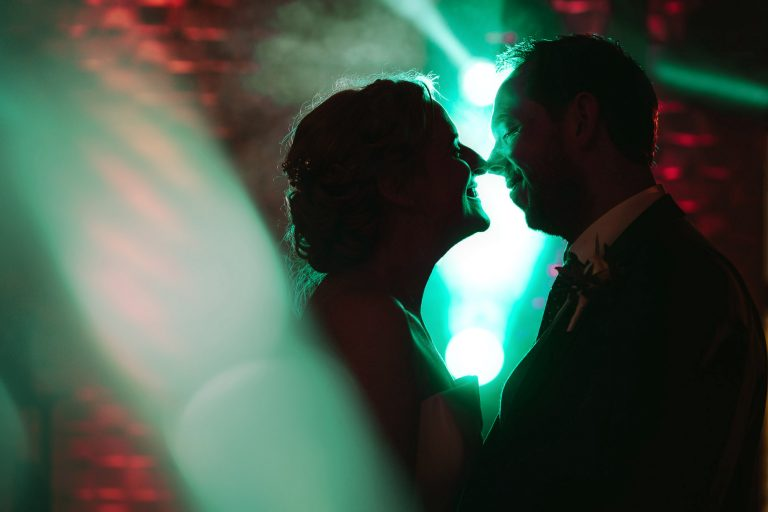 Colshaw Hall Wedding Photo of Bride and Groom