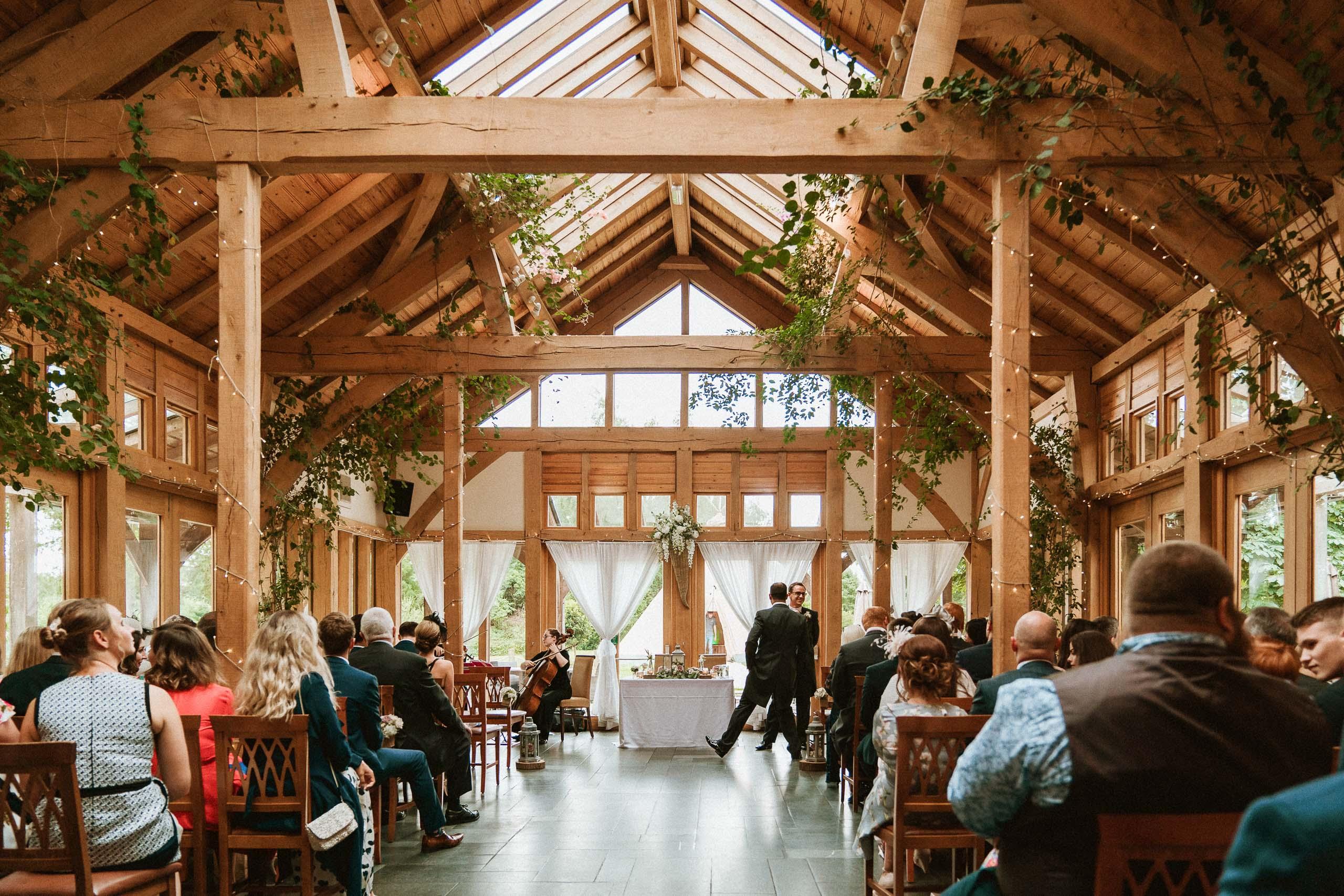 Oak Tree of Peover Acorn Barn interior